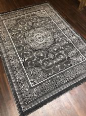 Modern Rugs Approx 7x5 150x210cm Woven Carved Designs Top Quality Grey Stunning